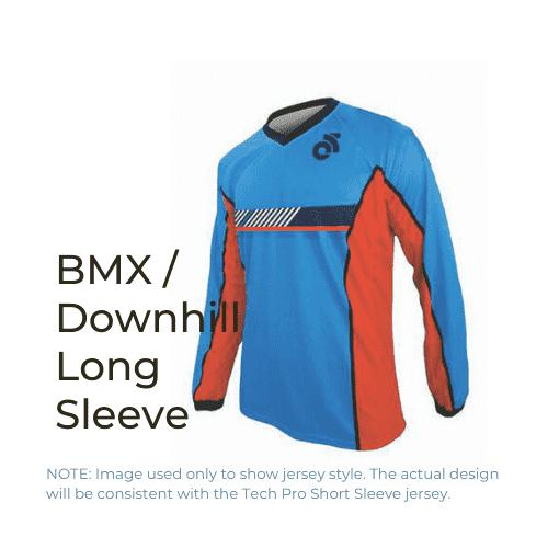 Binary Bicycles Winter 2019 BMX Downhill Jersey long sleeve
