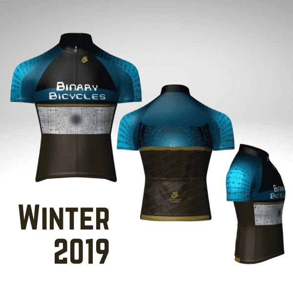 Binary Bicycles Winter 2019 Jersey profile