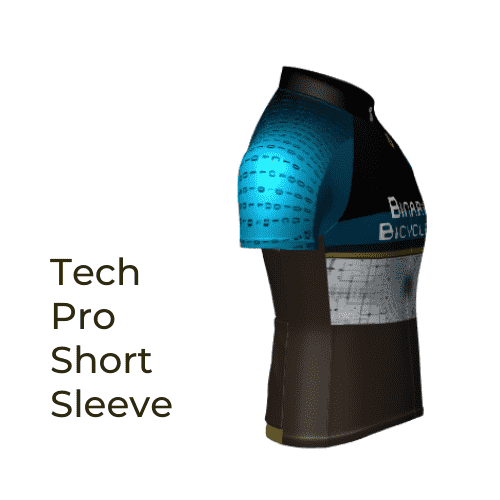 Binary Bicycles Winter 2019 Tech Pro Short Sleeve Jersey side view