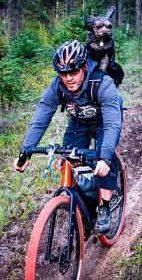 Binary Grolar gravel bike ridden by Josh Kato and Winston.